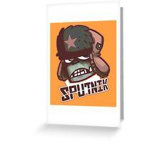 Sputnik Greeting Card
