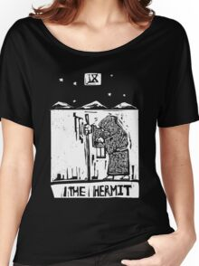 The Hermit  - Tarot Cards - Major Arcana Women's Relaxed Fit T-Shirt