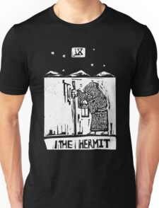 The Hermit  - Tarot Cards - Major Arcana Unisex T-Shirt