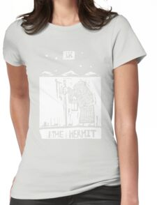 The Hermit  - Tarot Cards - Major Arcana Womens Fitted T-Shirt
