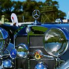 1936 Mercedes up close and personal by Debbie-anne