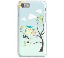 Sleeping Owls iPhone Case/Skin