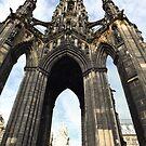 Sir Walter Scott Monument by emanon