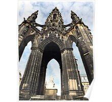 Sir Walter Scott Monument Poster