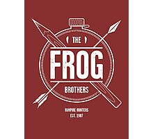 The Frog Brothers Photographic Print