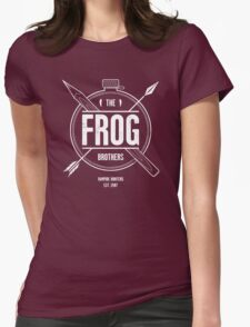 The Frog Brothers Womens Fitted T-Shirt