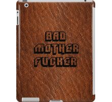 Bad Motherfucker Leather - Pulp Fiction iPad Case/Skin