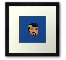 Mechon Head Framed Print