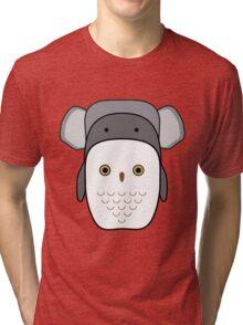 Animals tetris Tri-blend T-Shirt