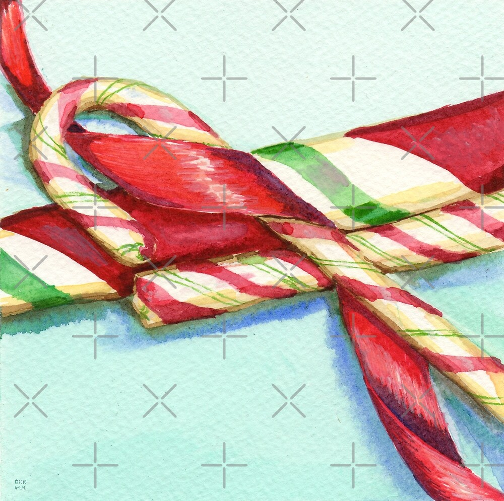 Candy Canes by Amy-Elyse Neer