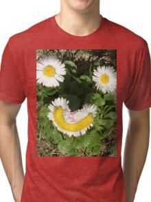 Happy Daisies Tri-blend T-Shirt