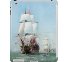 First Journey Of The HMS Victory iPad Case/Skin