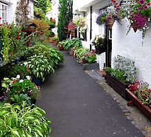 Alley in Hawkshead by joshuaryan123