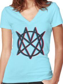 Mindless Self Indulgence Women's Fitted V-Neck T-Shirt