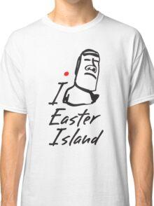 I LOVE EASTER ISLAND T-shirt Classic T-Shirt