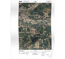 USGS Topo Map Washington State WA Jackson Prairie 20110405 TM Poster