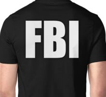 FBI, Type, Federal Bureau of Investigation enthusiasts, Female Body Inspectors Unisex T-Shirt