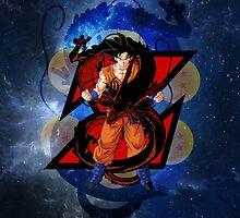 Dragon Ball Z - Goku by J. Danion