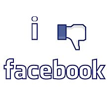 I dont like Facebook by nasjo
