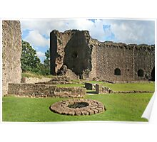 White Castle inner ward, Wales Poster