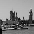 London's Big Ben by Queenicorn
