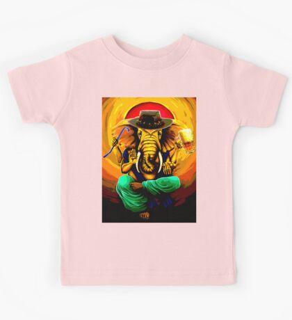 Ganesh On Break Kids Tee