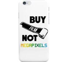Buy Film Not Megapixels iPhone Case/Skin