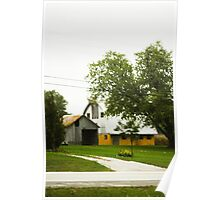 BARN OUTSIDE NEW ALBANY, INDIANA Poster