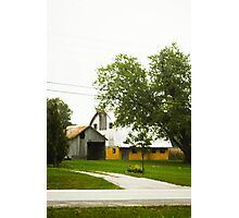 BARN OUTSIDE NEW ALBANY, INDIANA Photographic Print