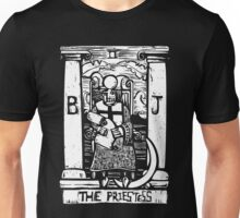 The Priestess  - Tarot Cards - Major Arcana Unisex T-Shirt