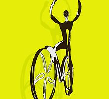 Cyclist iphone by oxidat