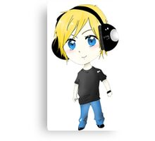 JayDoesGaming Chibi Large Canvas Print