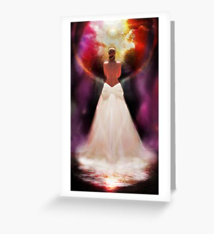 THE BRIDE Greeting Card