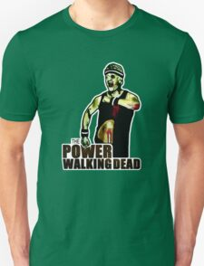 The Power Walking Dead (on Green) [ iPad / iPhone / iPod Case | Tshirt | Print ] Unisex T-Shirt