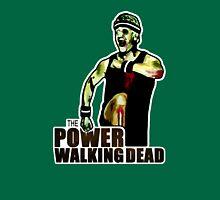 The Power Walking Dead (on Green) [ iPad / iPhone / iPod Case | Tshirt | Print ] Unisex T-Shirt