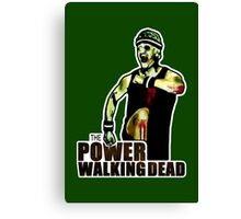 The Power Walking Dead (on Green) [ iPad / iPhone / iPod Case | Tshirt | Print ] Canvas Print