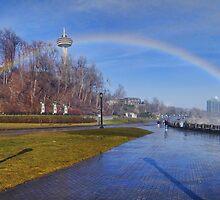 Rainbow Archway  by Bill  Watson