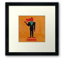 Denis (LE LOUP-GAROU) Framed Print