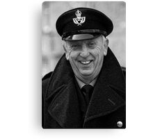 Pete Button Canvas Print