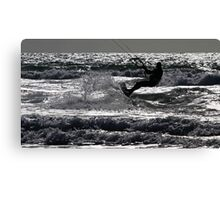 Liquid Mercury - Ocean Slice.... Canvas Print