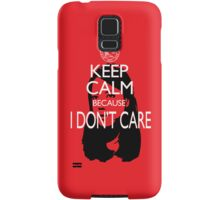 April Ludgate Doesn't Care Samsung Galaxy Case/Skin