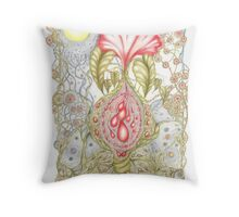Florabundance Throw Pillow