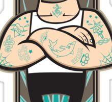 Victorian Fight Club Sticker