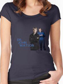 DR. JOHN WATSON Women's Fitted Scoop T-Shirt