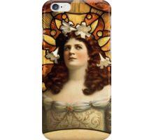 Art Nouveau Lady  iPhone Case/Skin