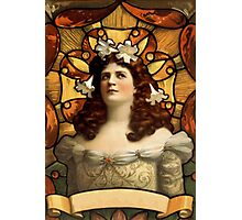 Art Nouveau Lady  Photographic Print