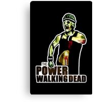 The Power Walking Dead (on Black) [ iPad / iPhone / iPod Case | Tshirt | Print ] Canvas Print