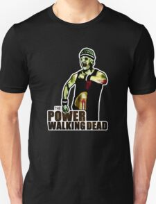 The Power Walking Dead (on Black) [ iPad / iPhone / iPod Case | Tshirt | Print ] T-Shirt