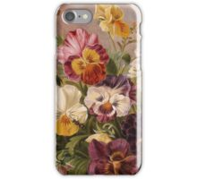 iPHONE Case-Pansies iPhone Case/Skin