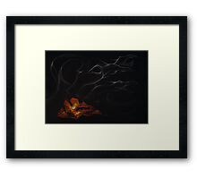Smoke Dragons Framed Print
